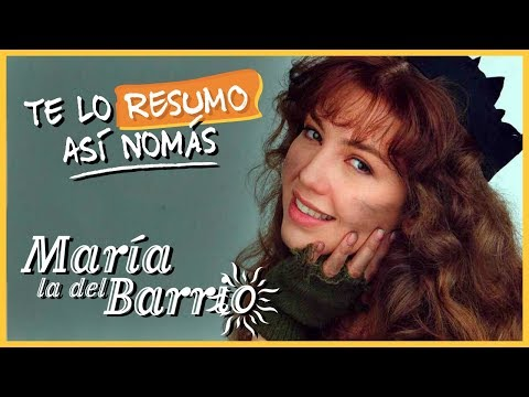María La Del Barrio | #TeLoResumoAsíNomás (ReSubido)