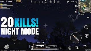 20 Kills In NIGHT MODE! ft. KvleOfficial   PUBG Mobile 0.9.0 Version