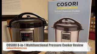 COSORI 8 in 1 Multifunctional Pressure Cooker Review