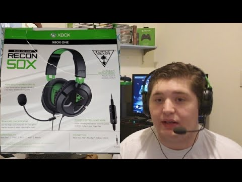 Turtle Beach Ear Force Recon 50X Headset Review!!! Budget Review!!! IS IT GOOD!?!?