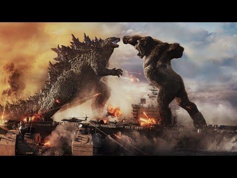 Download Godzilla vs. Kong Ocean Battle Movie Scene 2021 Ships Sea Fight