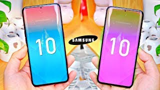 Samsung LEAKS Galaxy S10 Design! 🔥