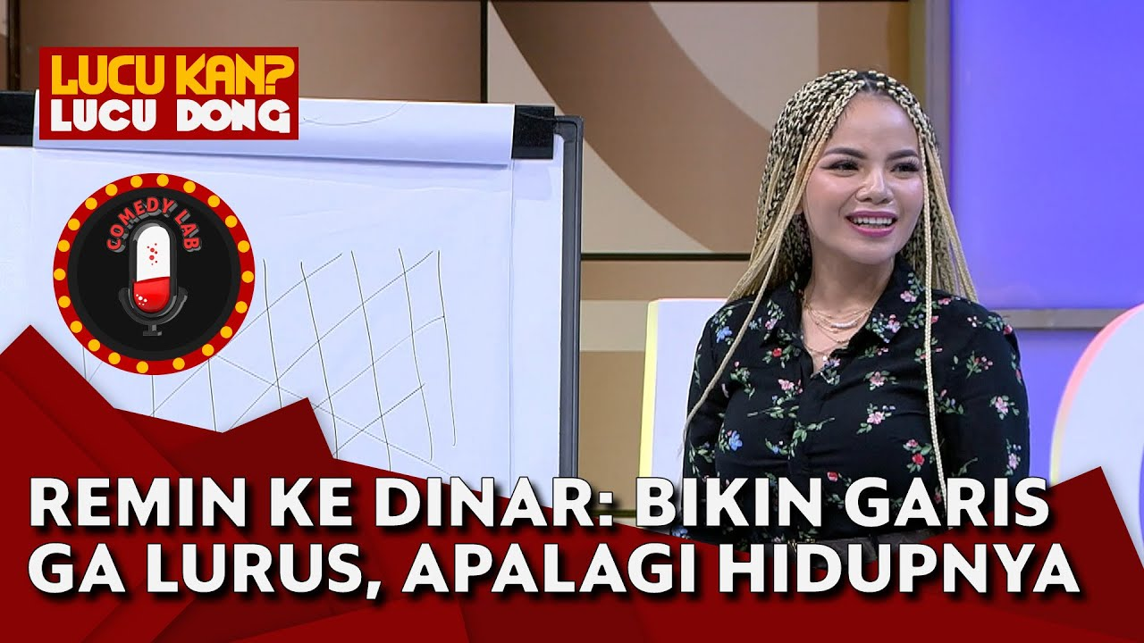 Remin Kasih Clue Gambar Kaset CD, Dinar Candy Geli Sendiri, Kok Gitu? - COMEDY LAB (PART 5)