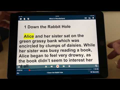 Voice Dream Reader Voices Demonstration iOS Text to Speech TTS