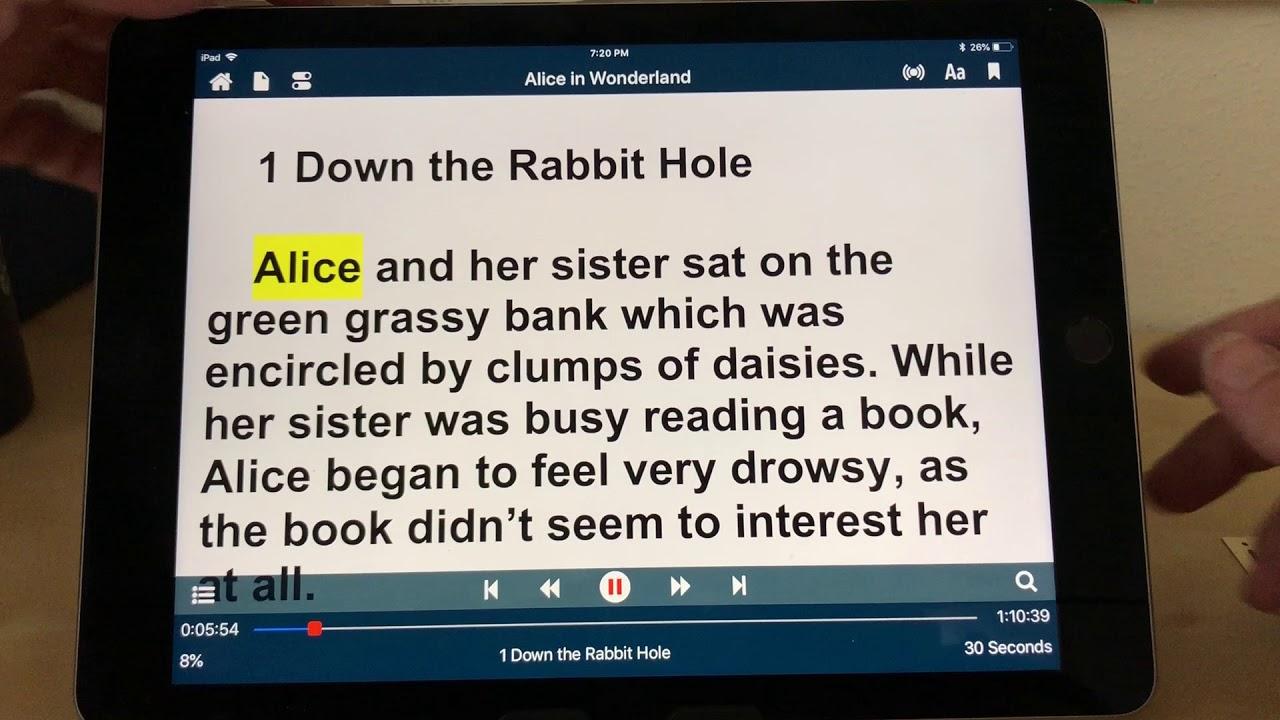 Voice Dream Reader Voices Demonstration iOS Text to Speech TTS