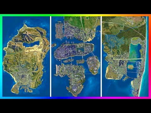 IS THE GTA 5 MAP ACTUALLY EXTREMELY SMALL!? - ULTIMATE LOS SANTOS COMPARISON VS GTA GAMES & MORE!