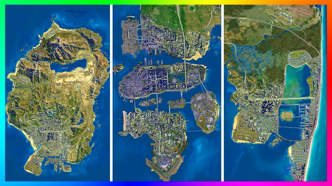 IS THE GTA 5 MAP ACTUALLY EXTREMELY SMALL  ULTIMATE LOS