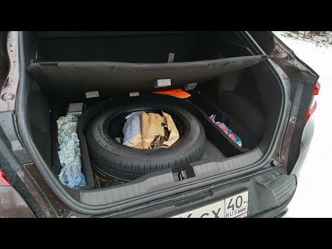 Рено Аркана: доработка органайзера в багажнике. Укрепление пенопластового пенала.