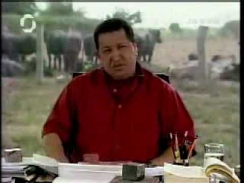 Hugo Chavez Slams George W Bush