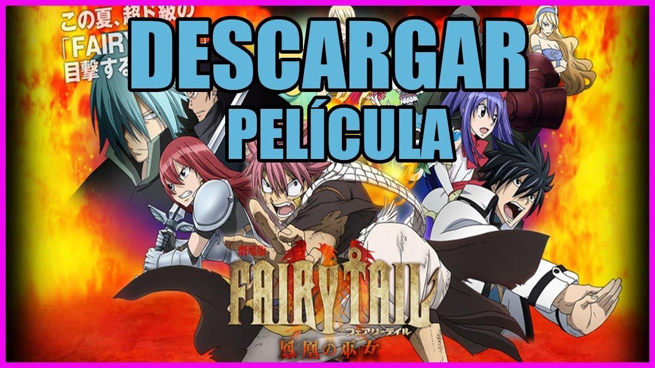 Download Descargar Fairy Tail Película Dragon Cry | MEGA 1 Link (no HD)