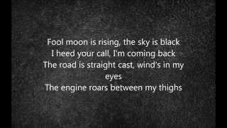 Virgin Steele - Desert Plains (lyrics)