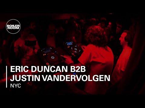 Eric Duncan B2B Justin Vandervolgen Boiler Room NYC x Beats In Space 15th Anniversary DJ Set