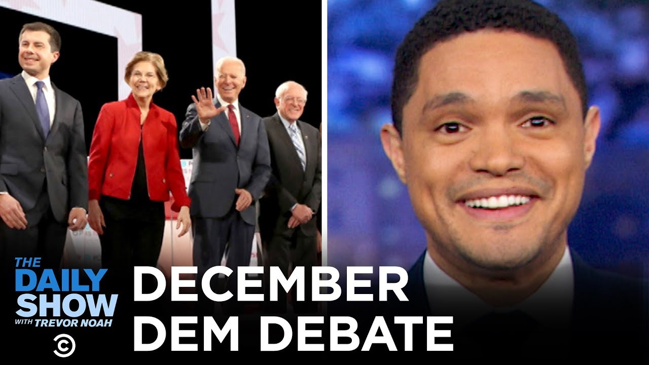 What time is the January Democratic debate?