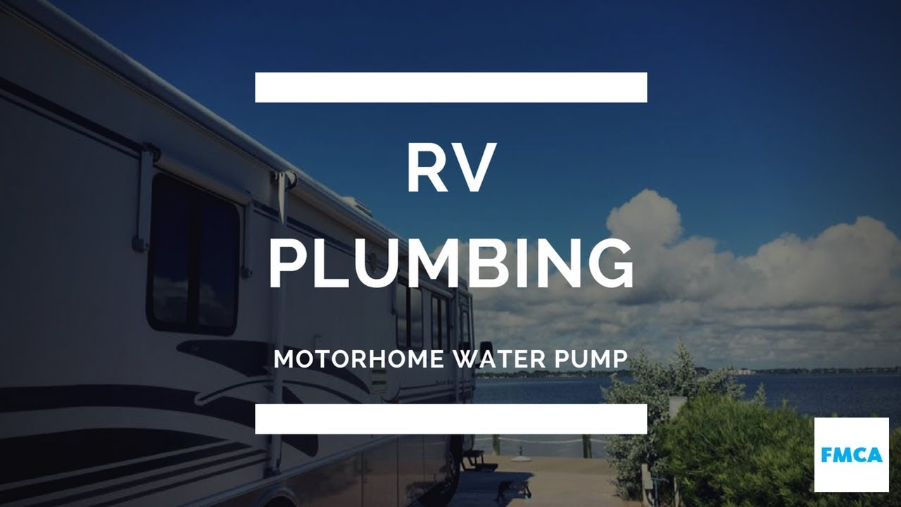motorhome water pump problem