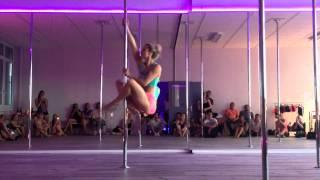 Nana Lou (Anaïs Curchod) - Show @ Pink'Attitude Pole Dance Studio