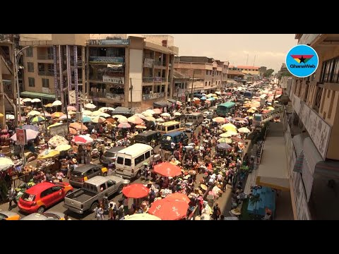 Accra lockdown: Makola market businesses booms as buyers lament over high price of food stuffs.