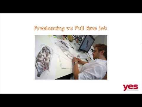 Freelance vs full time Design job