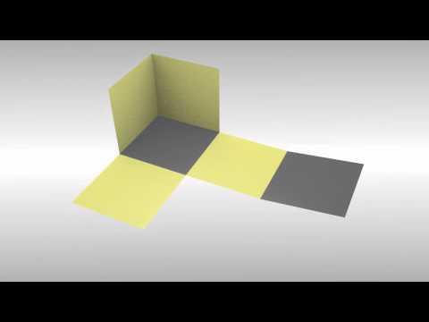 Animasi Jaring - Jaring Kubus - YouTube