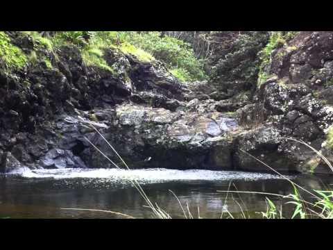 Maui Huelo Waterfall