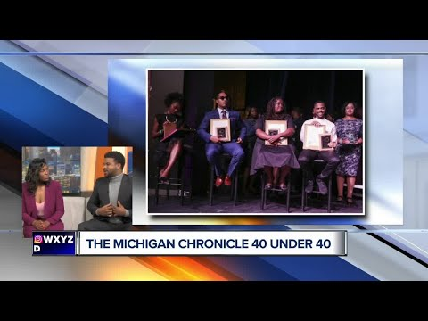 Michigan Chronicle 40 Under 40 Event