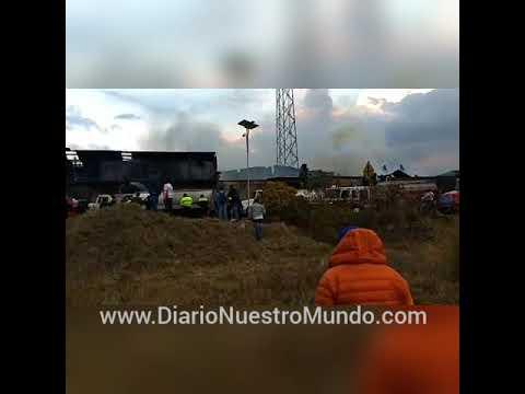 d0dbd9ded0e Se incendia fábrica en el Centro de Ocoyoacac - YouTube
