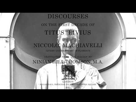 Machiavelli, Discourses, Book I, Chapter XI