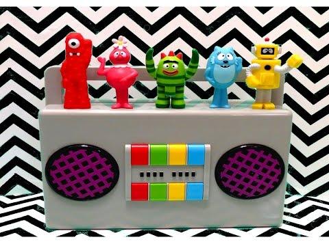 Yo Gabba Gabba Boombox Playset Play-Doh Surprise Eggs - itsplaytime612