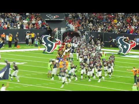 Houston Texans 1st 2017 appearance at NRG Stadium...8/19/17
