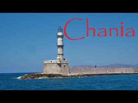 Chania Kreta,  Χανιά, Crete Old Harbour.