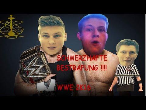 WWE 2K16 BATTLE MIT BESTRAFUNG !!