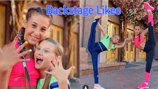 Backstage/Гимнастический челлендж с Мисс Николь /Backstage/Видео Likee