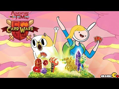 Card Wars Adventure Time Card Game:  Finn And Jake's Treehouse Battle With BMO!