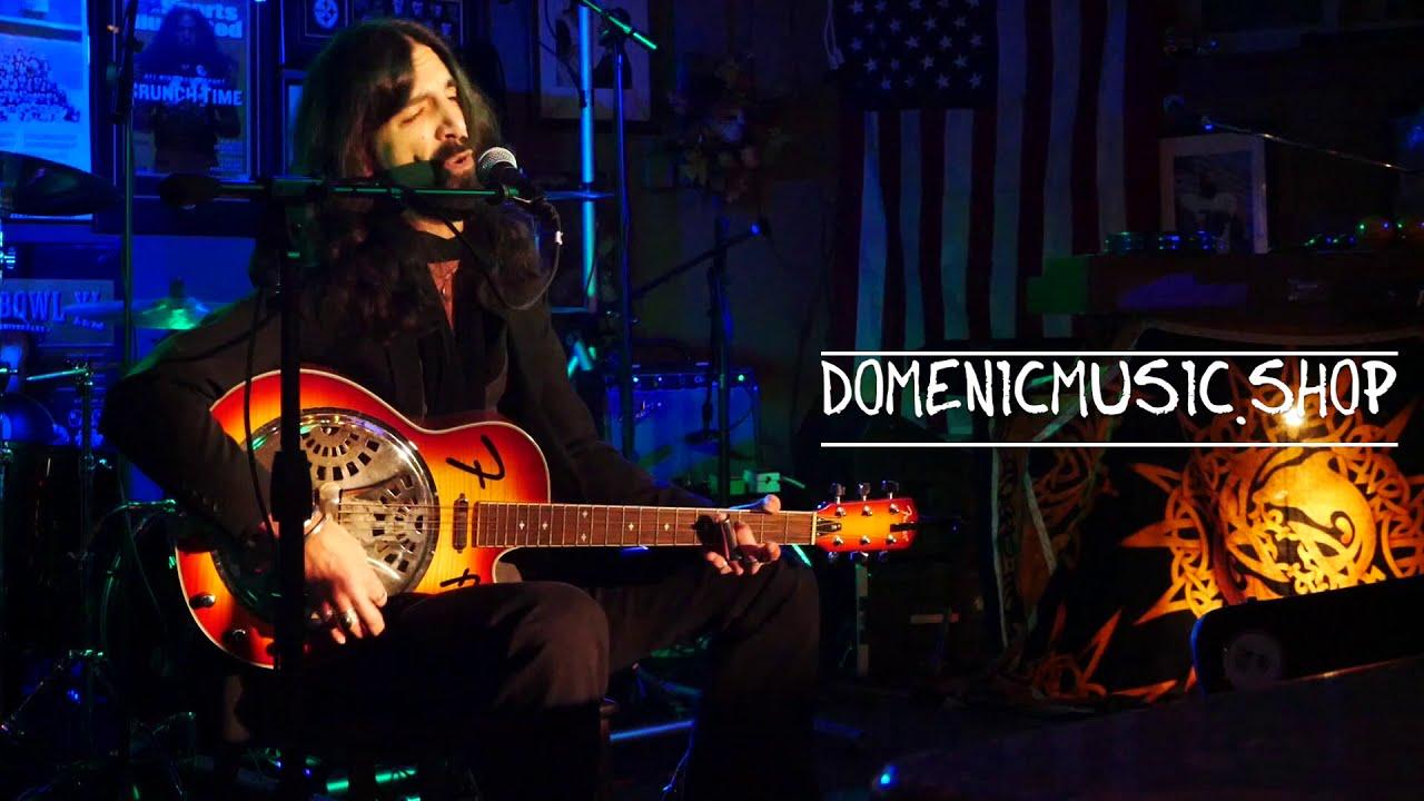 "DoMeNiC "" Honest Man"" Live!"