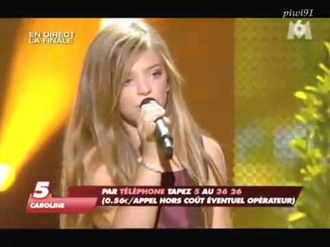 Caroline Costa I will always love you Incroyable Talent Finale