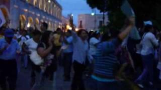 18 de mayo de 2010 - Acto de Beatriz Zavala Peniche en defensa del voto