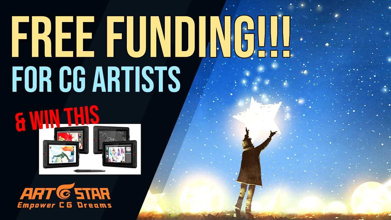 Free Funding for Cg Artists - Art Star Programme
