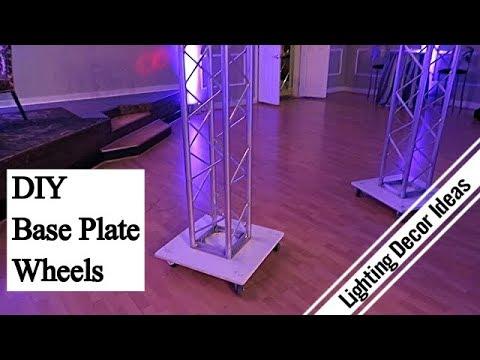 Lighting Decor Ideas DIY Base Plate Wheels California Lighting Decor 408 205 0885