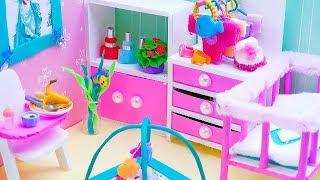 DIY Miniature Ariel Baby Room