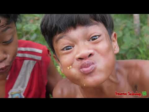 Primitive Technology - Eating Delicious - Wow Cacth Crocodile Cooking Recipe In Jungle #175