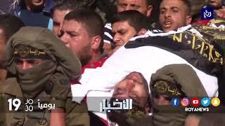 غزة تشيع شهداء أنفاق المقاومة بجنازة مهيبة - (31-10-2017)