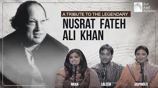 Скачать Nusrat Fateh Ali Khan Tribute Mashup Richa Sharma Master Saleem Jaspinder Narula Best Songs