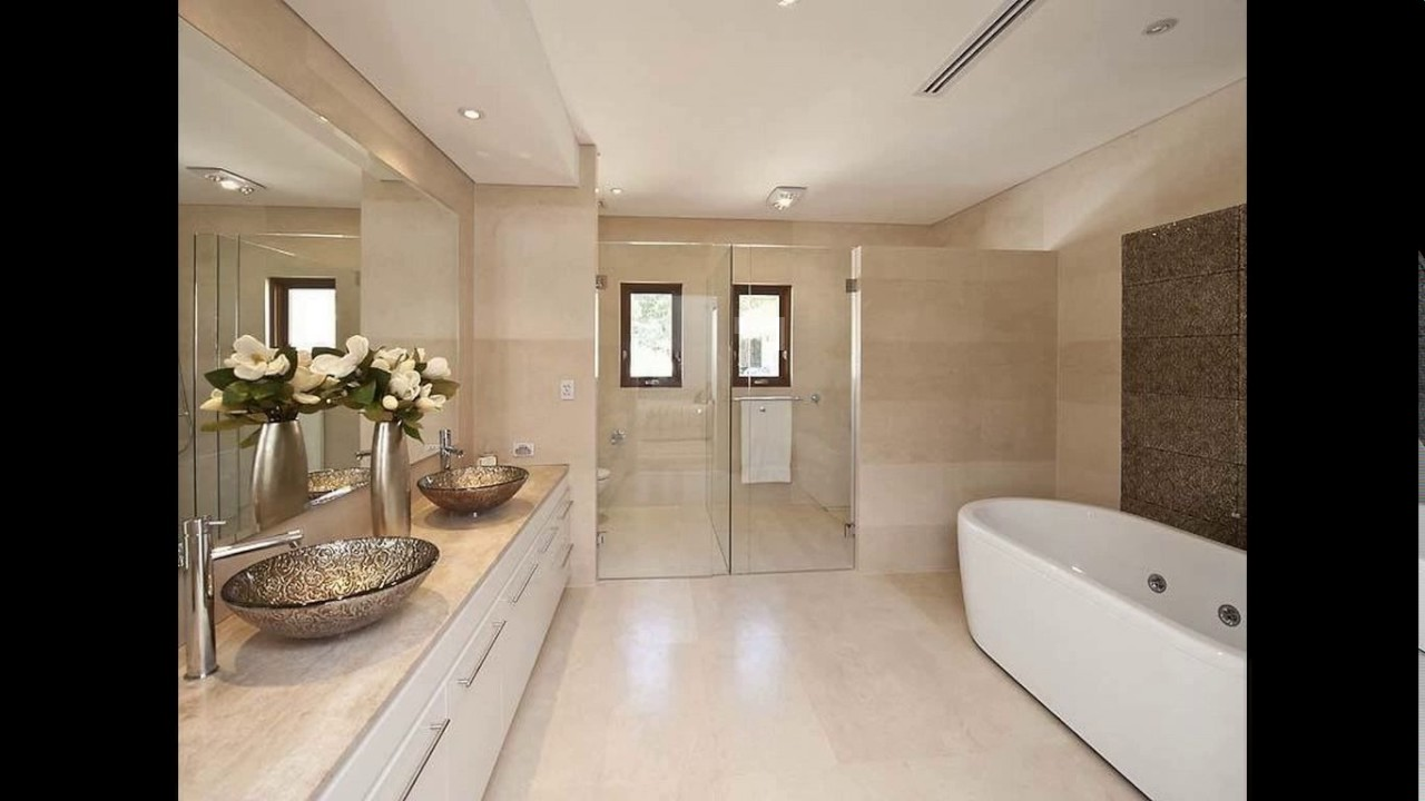 Ensuite bathroom design ideas - YouTube