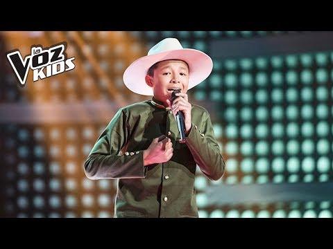 Mario Alejandro canta Egoísmo – Rescates   La Voz Kids Colombia 2018