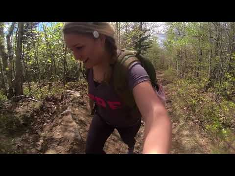 Hiking Black Cap Trail NH