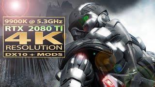 Crysis rtx 2080 ti 4K resolution   Crysis mods 4K