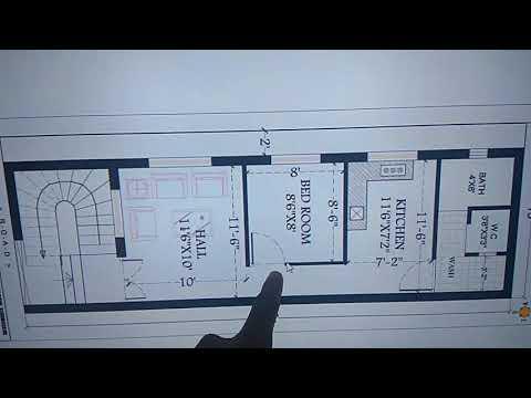 600 sq.ft house plan