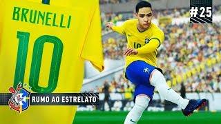 Baixar BRUNELLI ASSUME A 10 DA SELEÇÃO BRASILEIRA !!! - RUMO AO ESTRELATO #25 | PES 2019
