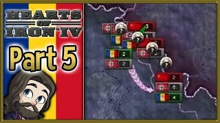 Hearts of Iron 4 Romania Gameplay - Part 5 - Let