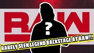 WWE LEGEND NOT SEEN FOR 3 YEARS BACKSTAGE AT WWE RAW TONIGHT!!! Breaking WWE News