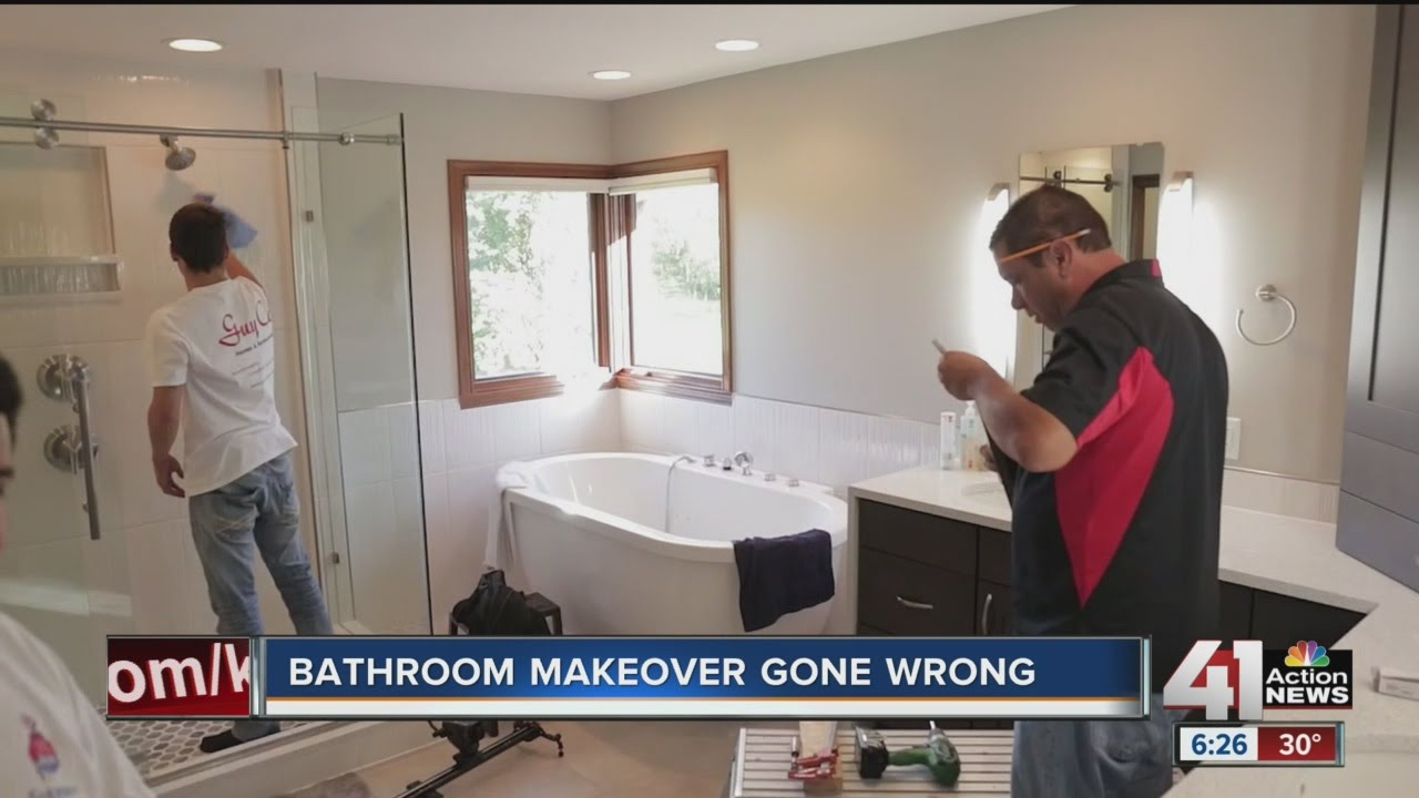 Bathroom Makeovers Youtube bathroom makeover gone wrong - youtube